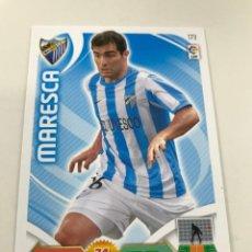 Cromos de Fútbol: CROMO Nº173 MARESCA - MALAGA CF - ADRENALYN PANINI 2011 2012. Lote 168807376
