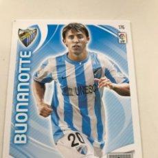 Cromos de Fútbol: CROMO Nº176 BUONANOTTE - MALAGA CF - ADRENALYN PANINI 2011 2012. Lote 168807436