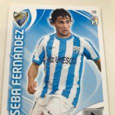 Cromos de Fútbol: CROMO Nº178 SEBA FERNANDEZ - MALAGA CF - ADRENALYN PANINI 2011 2012. Lote 168807564