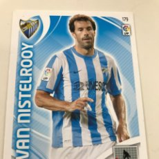 Cromos de Fútbol: CROMO Nº179 VAN NISTELROOY - MALAGA CF - ADRENALYN PANINI 2011 2012. Lote 168807616