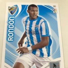 Cromos de Fútbol: CROMO Nº180 RONDON - MALAGA CF - ADRENALYN PANINI 2011 2012. Lote 168807676