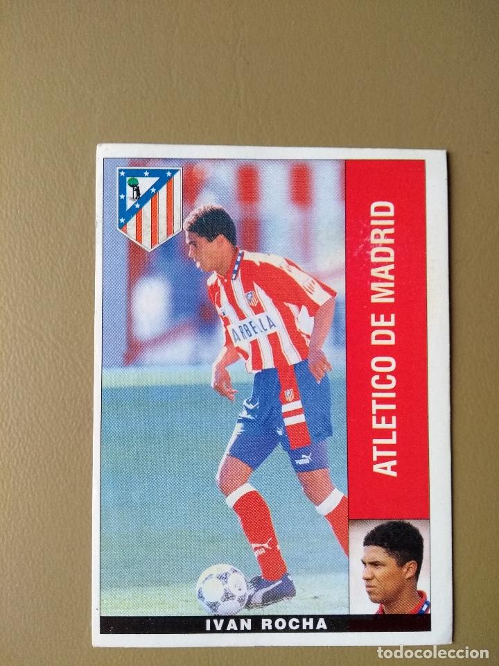 LTG PANINI 96 95 1995 1996 IVAN ROCHA ATLETICO MADRID NUNCA PEGADO (Coleccionismo Deportivo - Álbumes y Cromos de Deportes - Cromos de Fútbol)