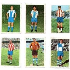 Cromos de Fútbol: ESPAÑOL: MARCIAL Y RE - GRANADA: SANTOS Y RUIZ SOSA - SABADELL: NICOLAU I Y GARCIA. (FHER 1968/69). Lote 167240604