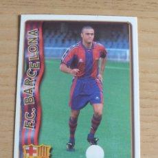Cromos de Fútbol: FÚTBOL CROMO Nº 42 UH LUIS ENRIQUE FC BARCELONA MUNDICROMO 1996 1997. Lote 194920510