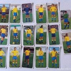 Cromos de Fútbol: U.D. LAS PALMAS LOTE DE 17 CROMOS LIGA 77/78, GERMÁN, CARNEVALLI.... Lote 169225160