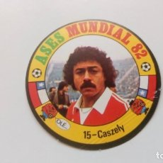 Cartes à collectionner de Football: 15 CASZELY CHILE ESPANYOL REYAUCA ASES MUNDIAL ESPAÑA 1982 82 NEW NO ESTE PANINI ADRENALYN. Lote 169270176