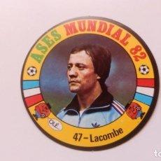 Cartes à collectionner de Football: 47 LACOMBE FRANCIA FRANCE REYAUCA ASES MUNDIAL ESPAÑA 1982 82 NEW NO ESTE PANINI ADRENALYN. Lote 169270217