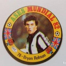 Cartes à collectionner de Football: 78 BRYAN ROBSON ENGLAND REYAUCA ASES MUNDIAL ESPAÑA 1982 82 NEW NO ESTE PANINI ADRENALYN. Lote 169278632