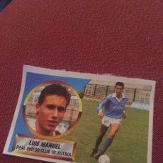 Cromos de Fútbol: ESTE 88 89 1988 1989 DESPEGADO LUIS MANUEL OVIEDO. Lote 169465780