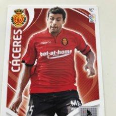 Cromos de Fútbol: CROMO Nº187 CACERES - RCD MALLORCA - ADRENALYN PANINI 2011 2012. Lote 169579460