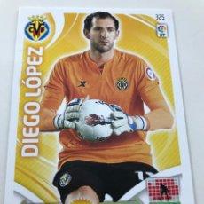 Cromos de Fútbol: CROMO Nº325 DIEGO LOPEZ - VILLAREAL CF - ADRENALYN PANINI 2011 2012. Lote 169584744