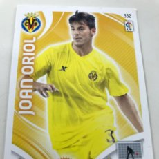 Cromos de Fútbol: CROMO Nº332 JOAN ORIOL - VILLAREAL CF - ADRENALYN PANINI 2011 2012. Lote 169584840