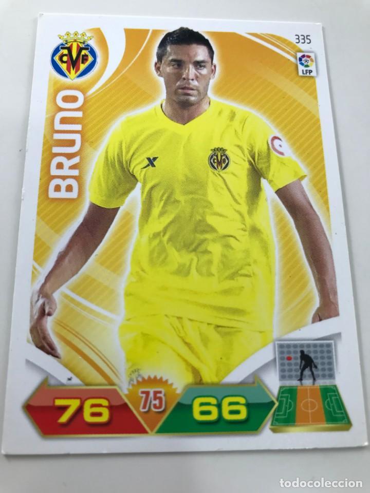CROMO Nº335 BRUNO - VILLAREAL CF - ADRENALYN PANINI 2011 2012 (Coleccionismo Deportivo - Álbumes y Cromos de Deportes - Cromos de Fútbol)