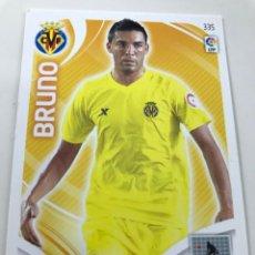Cromos de Fútbol: CROMO Nº335 BRUNO - VILLAREAL CF - ADRENALYN PANINI 2011 2012. Lote 169584868