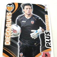 Cromos de Fútbol: CROMO Nº367 PLUS DEFENSA DIEGO ALVES - VALENCIA CF - ADRENALYN PANINI 2011 2012. Lote 169587376
