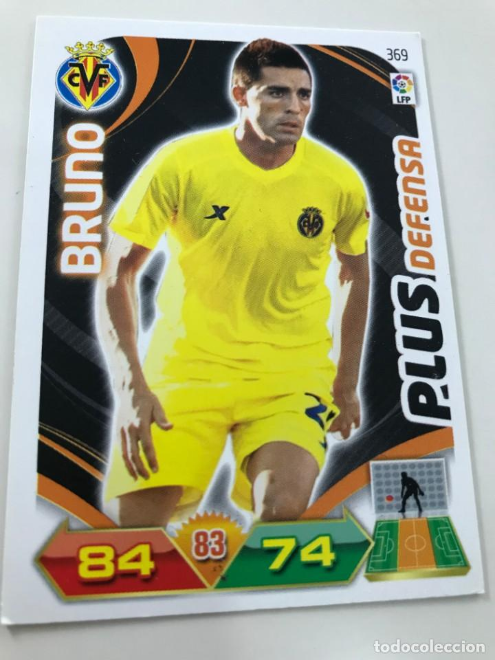 CROMO Nº369 PLUS DEFENSA BRUNO - VILLAREAL CF - ADRENALYN PANINI 2011 2012 (Coleccionismo Deportivo - Álbumes y Cromos de Deportes - Cromos de Fútbol)