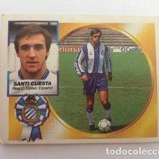 Cromos de Fútbol: LIGA 94 95 SANTI CUESTA (REAL C. DPTVO. ESPAÑOL) ESPANYOL BAJA NUNCA PEGADO NUEVO 1994-1995. Lote 169592496