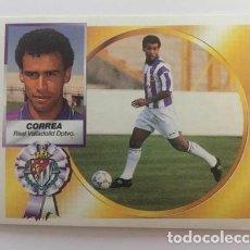 Cromos de Fútbol: LIGA 94 95 CORREA (REAL VALLADOLID DEPORTIVO) NUEVO NUNCA PEGADO 1994 - 1995 EDICIONES ESTE. Lote 169603904