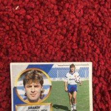 Cromos de Fútbol: ESTE 88 89 1989 1988 ZARAGOZA SIRAKOV COLOCA SIN PEGAR 15. Lote 169739512