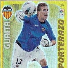Cromos de Fútbol: ADRENALYN LIGA 2011 2012 PANINI Nº 385 GUAITA (VALENCIA) PORTERAZO. Lote 169795732