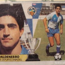 Cromos de Fútbol: CROMO LIGA ESTE 87 88 1987 1988 COLOCA VALDENEBRO SABADELL. Lote 170158852