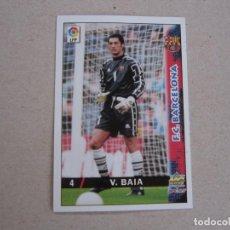 Cartes à collectionner de Football: MUNDICROMO FICHAS LIGA 98 99 Nº 4 VITOR BAIA BARCELONA 1998 1999 NUEVO. Lote 170219586