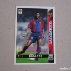Cartes à collectionner de Football: MUNDICROMO FICHAS LIGA 98 99 Nº 11 BOGARDE BARCELONA 1998 1999 NUEVO. Lote 170219746