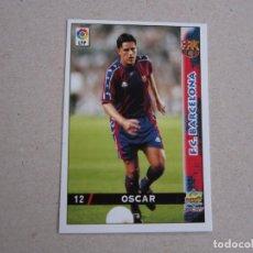 Cartes à collectionner de Football: MUNDICROMO FICHAS LIGA 98 99 Nº 12 OSCAR BARCELONA 1998 1999 NUEVO. Lote 170219801