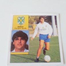 Cromos de Fútbol: FRANCIS BAJA EDICIONES ESTE 1992-93 DESPEGADO LIGA ESTE 92-93. Lote 170263640