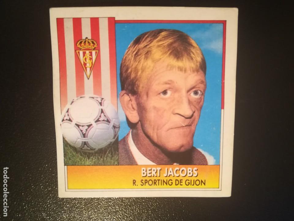 ESTE 92/93 1992/93 ENTRENADOR BERT JACOBS RECUPERADO (Coleccionismo Deportivo - Álbumes y Cromos de Deportes - Cromos de Fútbol)