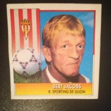 Cromos de Fútbol: ESTE 92/93 1992/93 ENTRENADOR BERT JACOBS RECUPERADO. Lote 170271412
