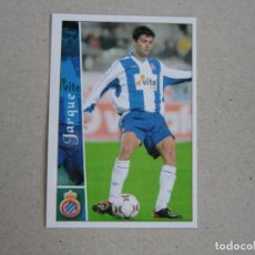 Cromos de Fútbol: MUNDICROMO FICHAS LIGA 2003 2002 FICHAJE + III Nº 655 JARQUE ESPANYOL 02 03 NUEVO. Lote 194622486