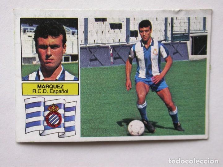 MÁRQUEZ UF 1 DE EDICIONES ESTE 82-83 ESPAÑOL, DESPEGADO (Coleccionismo Deportivo - Álbumes y Cromos de Deportes - Cromos de Fútbol)