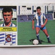 Cromos de Fútbol: MÁRQUEZ UF 1 DE EDICIONES ESTE 82-83 ESPAÑOL, DESPEGADO. Lote 170433784