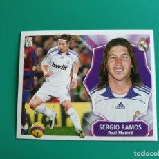 Cromos de Fútbol: SERGIO RAMOS - REAL MADRID - EDICIONES ESTE 2008-09 - 08/09 (NUEVO). Lote 269730393