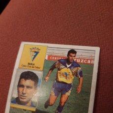 Cromos de Fútbol: ESTE 92 93 1992 1993 CÁDIZ SIN PEGAR BARLA CADIZ. Lote 170566686