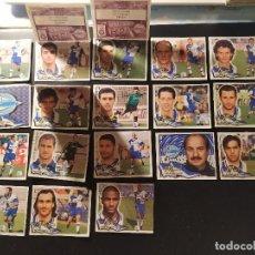 Cromos de Fútbol: LIGA ESTE 2000 2001 00 01 ALAVES - 21 CROMOS RECUPERADOS. . Lote 170571648