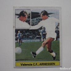 Cromos de Fútbol: CROMO FICHAJE 9 ARNESSEN (VALENCIA) VERSIÓN DIFICIL. EDICIONES ESTE LIGA FUTBOL 1981-82. Lote 170630900