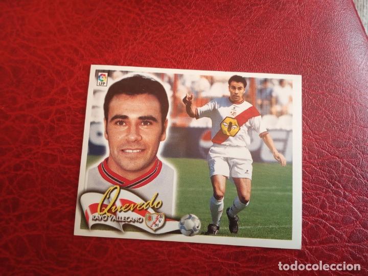 QUEVEDO RAYO VALLECANO ED ESTE 00 01 CROMO FUTBOL LIGA 2000 2001 - SIN PEGAR - 557 (Coleccionismo Deportivo - Álbumes y Cromos de Deportes - Cromos de Fútbol)