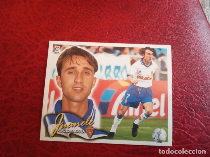 JUANELE ZARAGOZA ED ESTE 00 01 CROMO FUTBOL LIGA 2000 2001 - SIN PEGAR - 558 (Coleccionismo Deportivo - Álbumes y Cromos de Deportes - Cromos de Fútbol)