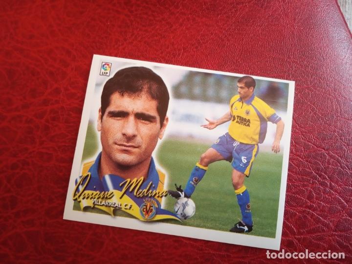 QUIQUE MEDINA VILLARREAL ED ESTE 00 01 CROMO FUTBOL LIGA 2000 2001 - SIN PEGAR - 559 (Coleccionismo Deportivo - Álbumes y Cromos de Deportes - Cromos de Fútbol)