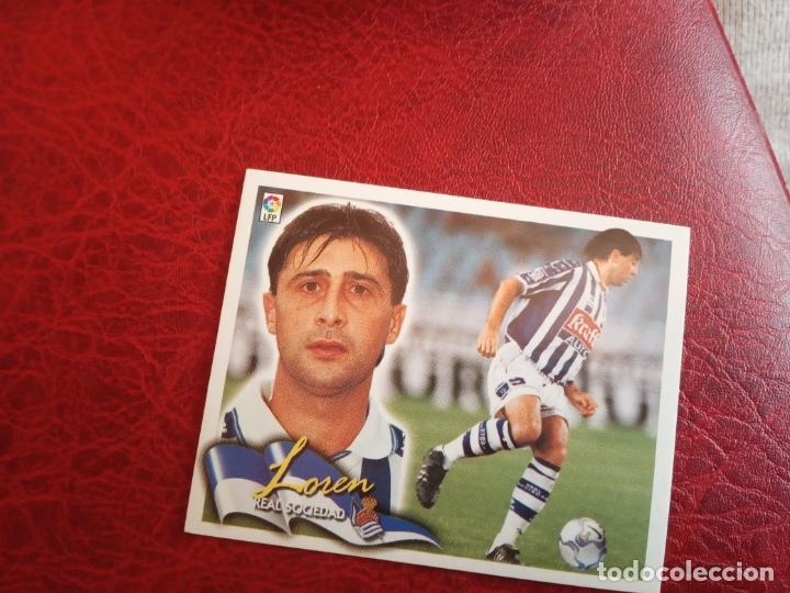 LOREN REAL SOCIEDAD ED ESTE 00 01 CROMO FUTBOL LIGA 2000 2001 - SIN PEGAR - 565 (Coleccionismo Deportivo - Álbumes y Cromos de Deportes - Cromos de Fútbol)