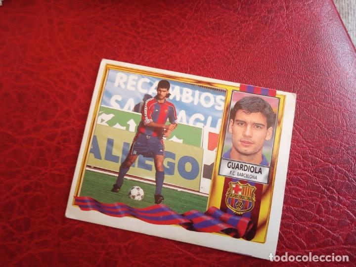 GUARDIOLA BARCELONA ED ESTE LIGA CROMO 95 96 FUTBOL 1995 1996 - SIN PEGAR - 918 (Coleccionismo Deportivo - Álbumes y Cromos de Deportes - Cromos de Fútbol)