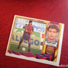 Cromos de Fútbol: GUARDIOLA BARCELONA ED ESTE LIGA CROMO 95 96 FUTBOL 1995 1996 - SIN PEGAR - 918. Lote 171082884