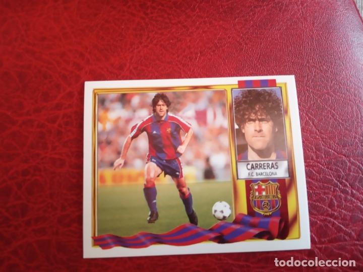 CARRERAS BARCELONA ED ESTE LIGA CROMO 95 96 FUTBOL 1995 1996 - SIN PEGAR - 921 (Coleccionismo Deportivo - Álbumes y Cromos de Deportes - Cromos de Fútbol)