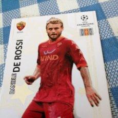 Cromos de Fútbol: CARTA PANINI ADRENALYN UEFA CHAMPIONS LEAGUE 2010 11 N 92 DANIELE DE ROSSI /ROMA. Lote 171093715