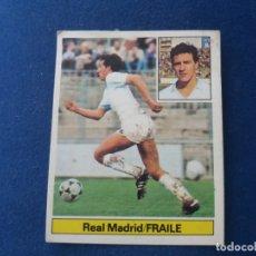 Cromos de Fútbol: 81 82 ESTE. FICHAJE 10 REAL MADRID FRAILE . Lote 171309859