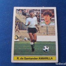Cromos de Fútbol: 81 82 ESTE. BAJA RACING DE SANTANDER AMARILLA . Lote 171310397