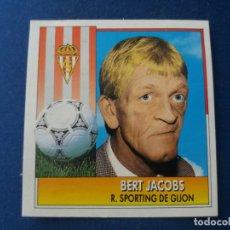Cromos de Fútbol: 92 93 ESTE. SPORTING DE GIJÓN BERT JACOBS. Lote 171312895