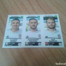 Cromos de Fútbol: CLAUDIO MORA, POLIDORI, RAICEVIC -- Nº 692 -- PROVERCELLI -- 17/18 -- CALCIATORI -- PANINI -- ITALIA. Lote 171356588
